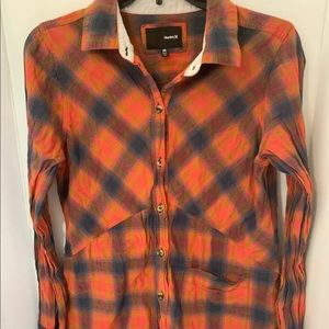 Hurley - Womens Wilson Long Sleeve Shirt flannel M
